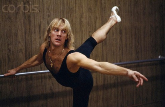 Russian dancer Alexander Godunov